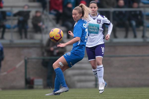20200125 - KRC Genk Ladies - RSC Anderlecht