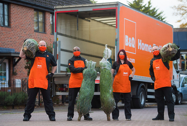16/11/20 - B&Q Christmas Tree Home Delivery Service