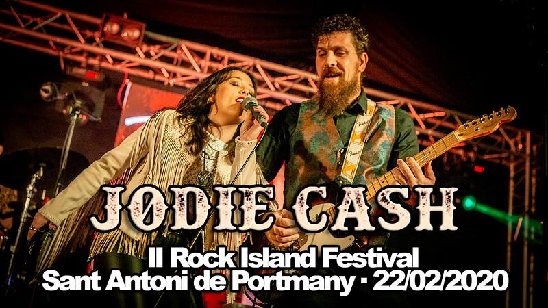 JODIE CASH · II ROCK ISLAND FESTIVAL · 22/02/2020