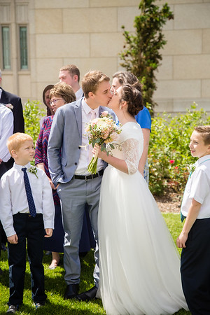 Ogden Temple Wedding