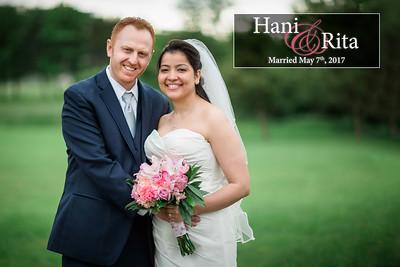 Hani and Rita: Married May 7th, 2017