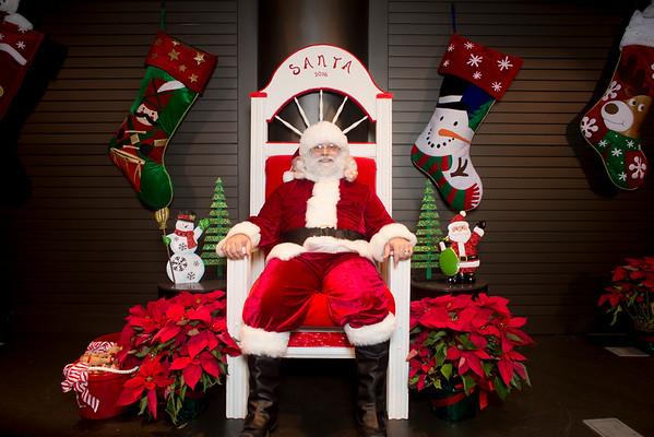 Santa on the Plaza 2016