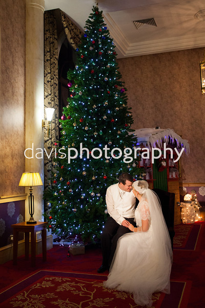 Bernadette & Conan Christmas Wedding Photography