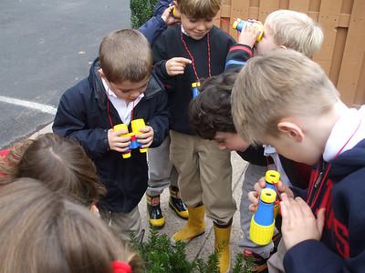 Kindergarten Circles Fall, Winter, and Spring Walks