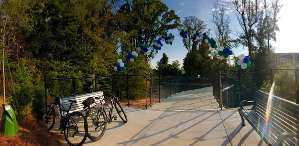 Dedication of the New Greenway