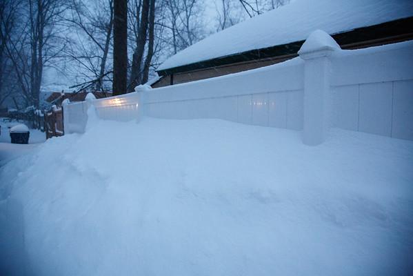 Blizzard in Plainfield