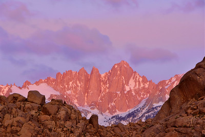 Alabama Hills & Mt. Whitney