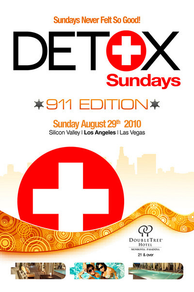 Mauricio Mejia Presents DETOX Sundays-LA @ Doubletree Hotel Monrovia 8.29.10