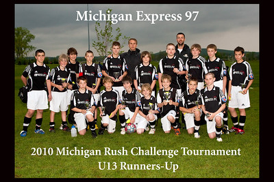Michigan Express 97 @ Michigan Rush Tournament 05-02-10