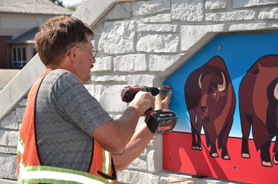 South LRT Aboriginal Art August 21, 2012