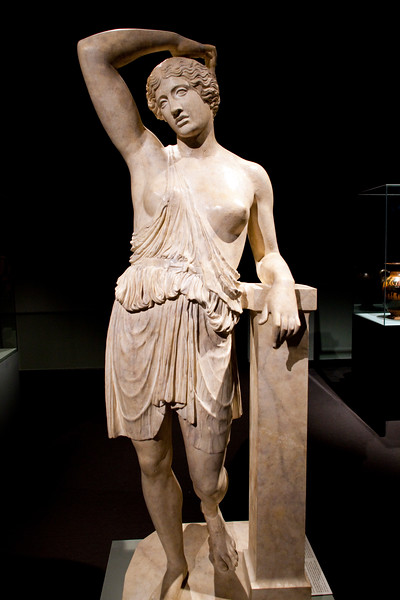 Wounded Amazon, Roman copy, Pergamon Museum, Berlin, Germany