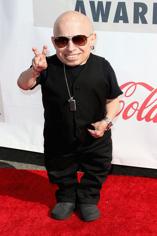 . Actor Verne Troyer attends the 3rd Annual Streamy Awards at Hollywood Palladium on February 17, 2013 in Hollywood, California.  (Photo by Frederick M. Brown/Getty Images)