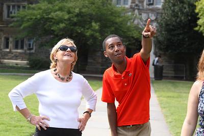 Governor Perdue Duke Tour