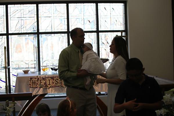 Maya Baptism April 2015