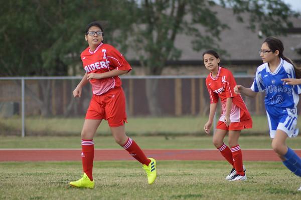 Girls Soccer B Team vs Coakley 2020