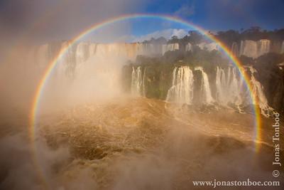Brazilian and Argentine Iguazu Falls