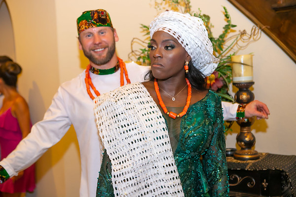 Nnenna and Christopher Trad