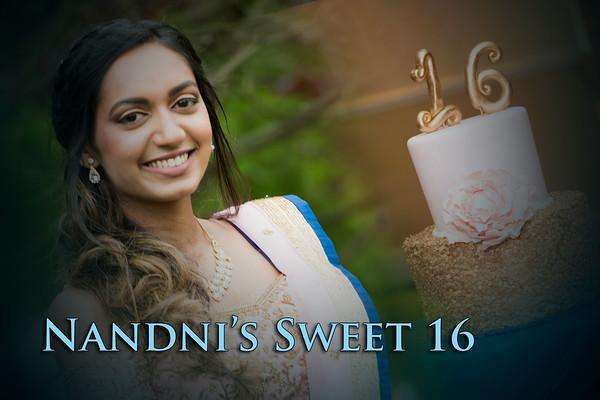 Nandni's Sweet 16