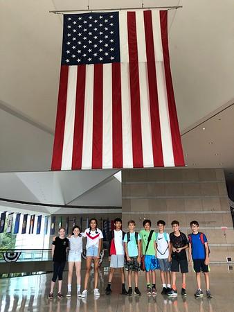 Seventh Graders' Visit to Philadelphia
