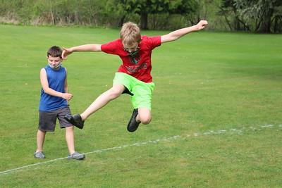 LS Runners in Sprinklers 5-6-21