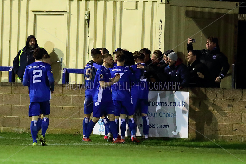 CHIPPENHAM TOWN V CONCORD RANGERS MATCH PICTURES 25th FEBRUARY 2020