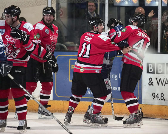 Blaze v Cardiff Devils - 07/12/2008