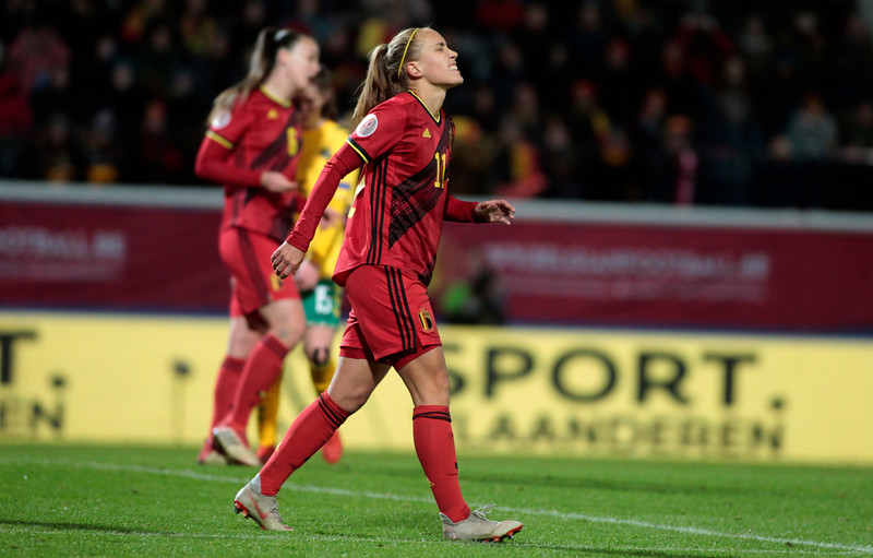 Belgian Red Flames v Lithuania
