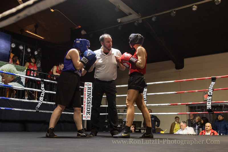 2019 White Collar Boxing Event - Bout 3