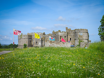 Carew Castle and Tidal Mill, Pembrokeshire (2018)