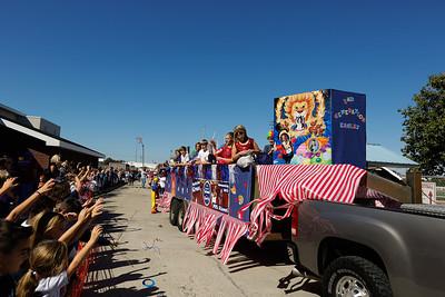 20121019 PBS Homecoming Parade