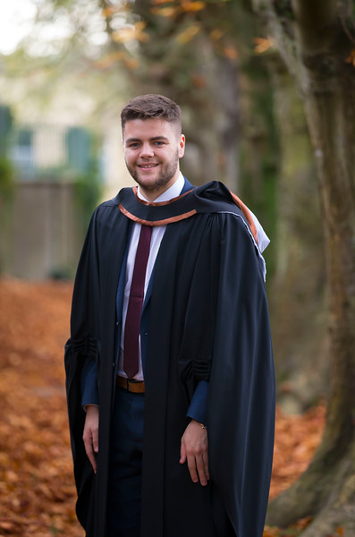 03/11/2016. Waterford Institute of Technology (WIT) Conferring Ceremonies November 2016: Pictured is Waterford Mayor Cllr. Adam Wyse who graduated Bachelor of Business (Hons). Picture: Patrick Browne
