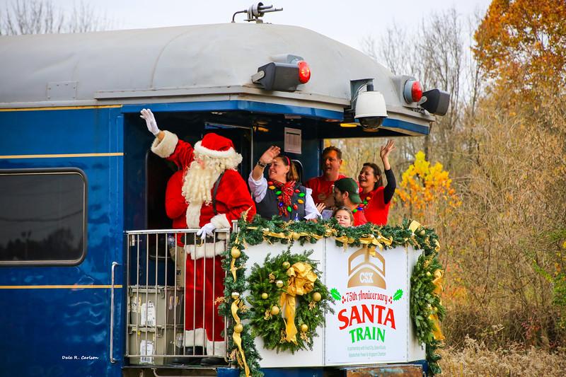 Santa Train 75th