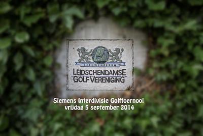 Siemens Interdivisie Golftoernooi 5-9-14