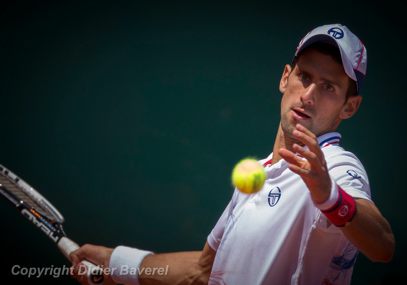 *legende* Finale des Masters Rolex Series opposant Novak Djokovic a Rafael Nadal en presence de SAS Le Prince Albert II et de le Princesse Charlene.