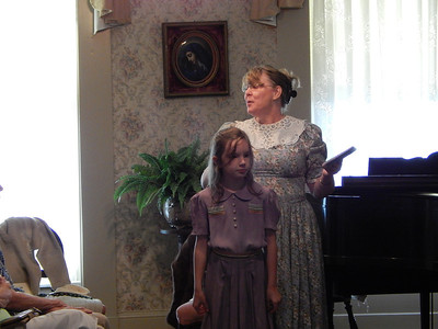 Historical Society Style Show August 10, 2013