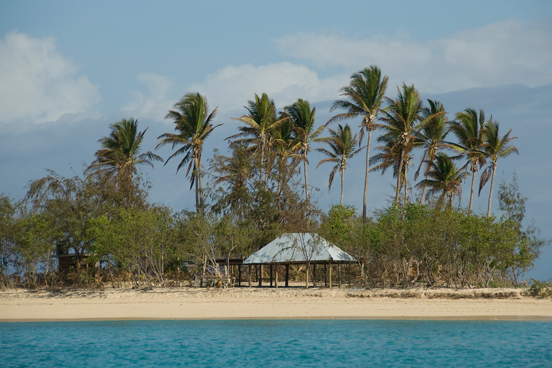 View of the beach in Yasawa Islands, Fiji