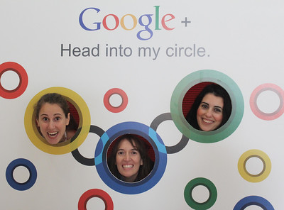 Google+ Head Into my Circle.