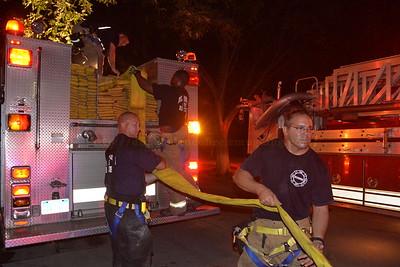 Dearborn - Linden street - House Fire