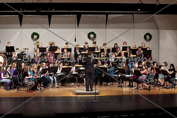 SA Middle School Band Night 12.9.10