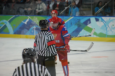 Women's Hockey - USA vs Russia