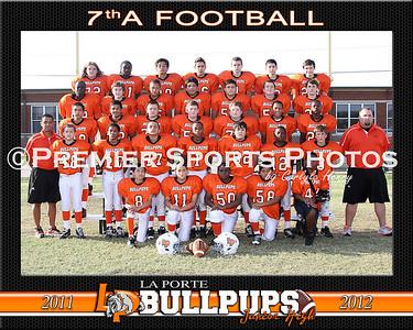 2011 La Porte Junior High 7th Grade Football