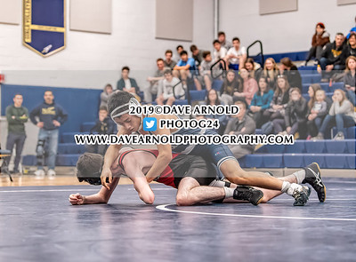 2/6/2019 - Varsity Wrestling - Wellesley vs Needham