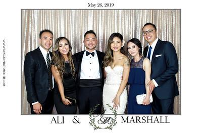 Marshall & Ali's Wedding 5/26/19