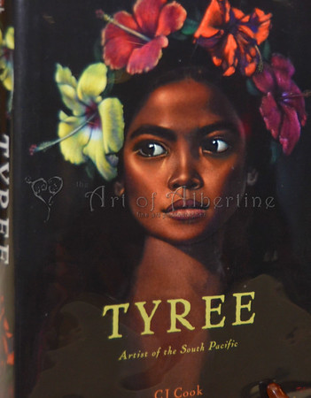 Symposium: CJ Cook – Tyree, Black Velvet and South Pacific Artist