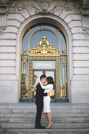 Bri & Vince - SF City Hall Wedding