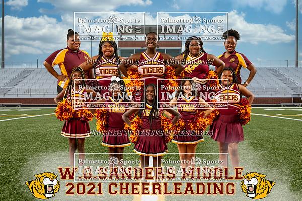 2021 WG Sanders Cheer Team and Individuals