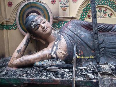 Violence to Buddhists, Monasteries, and Buddhas