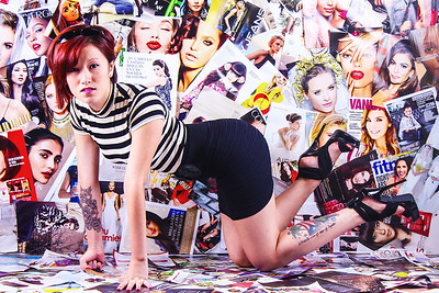 Creative Background Photoshoot