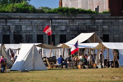 Liberty Greys at Ft. Adams, July 2010