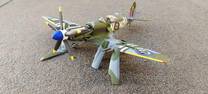 Matchbox Spitfire Mk24 in 1/32 scale